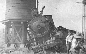 Lehigh and Hudson River Railway - Image: Wreck at Newburgh Branch