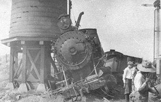 Lehigh and Hudson River Railway - Image: Wreck at Newburgh Branch