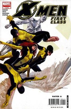 X-Men: First Class (comics) - Image: X Men First Class 01