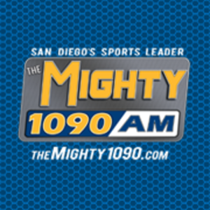 XEPRS-AM - The Mighty 1090 previous logo used from 2012 to 2015