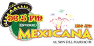 XHFI-FM - Image: XHFI Estereo Mexicana logo