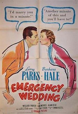 "Emergency Wedding - Image: ""Emergency Wedding"" (1950)"