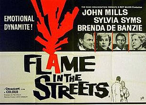 "Flame in the Streets - Image: ""Flame in the Streets"" (1961)"