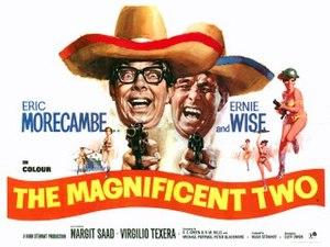 The Magnificent Two - British quad poster by Arnaldo Putzu
