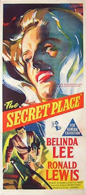 """The Secret Place (film) - Image: """"The Secret Place"""" (1957)"""