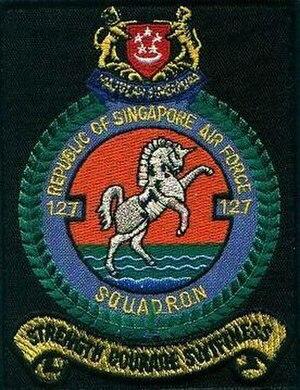 127 Squadron, Republic of Singapore Air Force - Image: 127Sqn shoulder patch