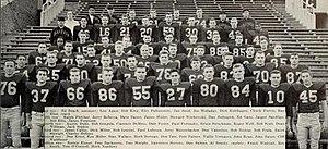 1952 Illinois Fighting Illini football team - Image: 1952 Illinois Fighting Illini football team