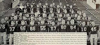 1952 Illinois Fighting Illini football team - Image: 1952 Illinois Fighting Illini football team