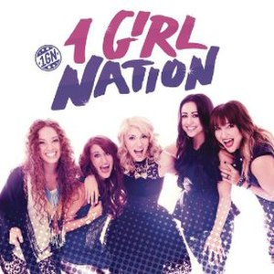 1 Girl Nation (album) - Image: 1Girl Nation