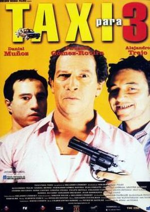 A Cab for Three - Spanish poster