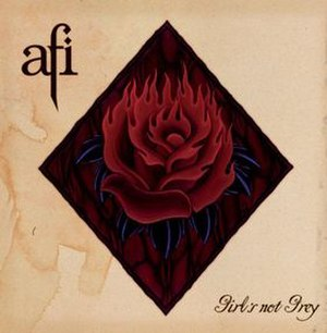 Girl's Not Grey - Image: AFI Girl's Not Grey cover