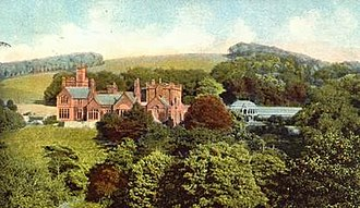 Abbot's Wood, Cumbria - 19th century painting of the Abbot's Wood estate