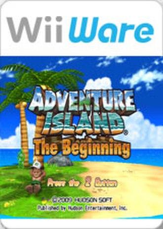 Adventure Island: The Beginning - Boxart of Adventure Island: The Beginning