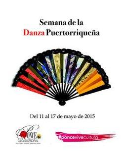 Fiesta Nacional de la Danza Annual cultural celebration in Ponce, Puerto Rico