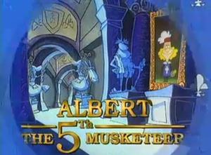 Albert the Fifth Musketeer - Image: Albert the Fifth Musketeer