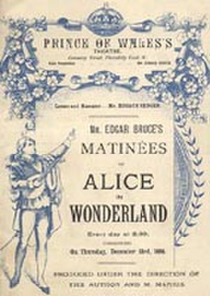 Alice in Wonderland (musical) - Original Poster