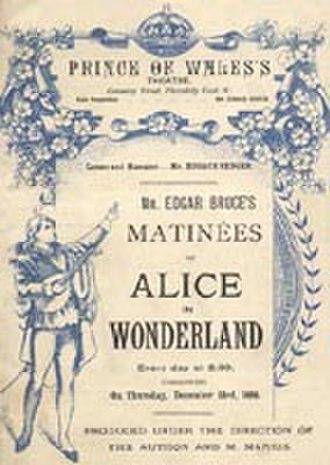 Alice in Wonderland (musical) - Original Poster