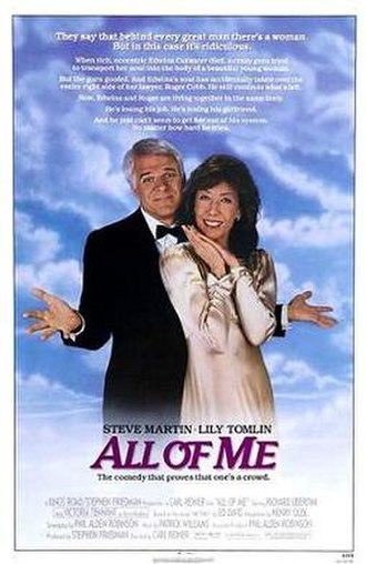 All of Me (1984 film) - Theatrical release poster