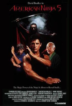 American Ninja V - Theatrical release poster