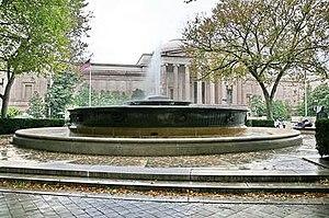 Andrew W. Mellon Memorial Fountain - Image: Andrew W. Mellon Memorial Fountain