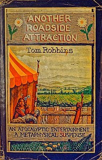 <i>Another Roadside Attraction</i> novel by Tom Robbins