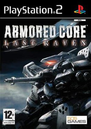 Armored Core: Last Raven - Image: Armored Core Last Raven