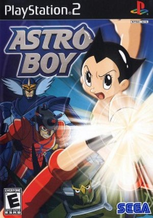 Astro Boy (2004 video game) - North American cover art