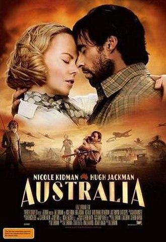Australia (2008 film) - Australian promotional poster