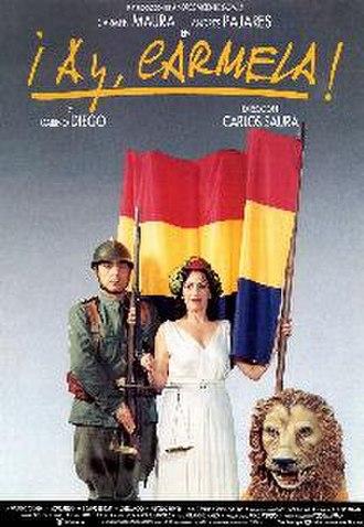 ¡Ay Carmela! - Image: Ay Carmela, film poster
