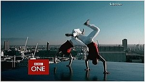 BBC One 'Rhythm & Movement' idents - Capoeira was regularly used before news broadcasts.