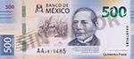 Banco de México G $500 Vorderseite.png