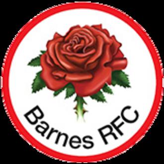 Barnes Rugby Football Club - Image: Barnes rfc rose