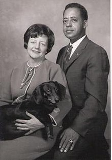 Barney Hill, Betty Hill and dog, Desley.jpg