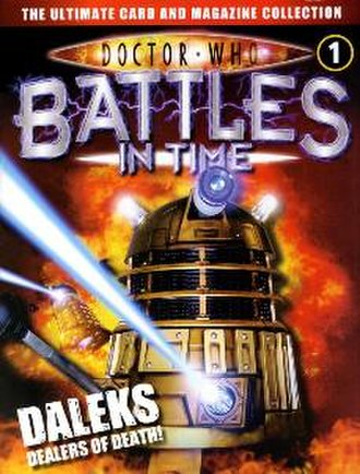 Dalek comic strips, illustrated annuals and graphic novels - Doctor Who: Battles in Time Magazine