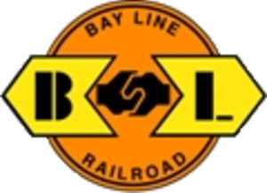 Bay Line Railroad - Image: Bay Line Railroad logo