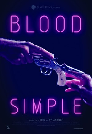 Blood Simple - Theatrical re-release poster