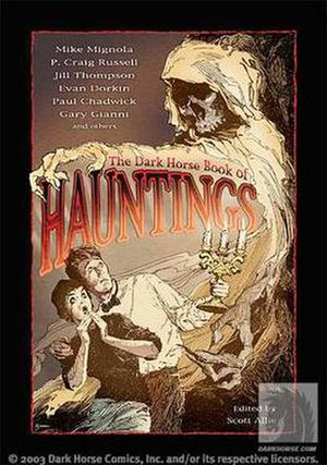 The Dark Horse Book of... - The Dark Horse Book of Hauntings cover by Gary Gianni