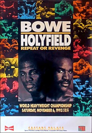 Riddick Bowe vs. Evander Holyfield II - Image: Bowe vs Holyfield 2