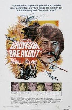 Breakout (1975 film) - Theatrical release poster
