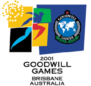 2001 Goodwill Games - Image: Brisbane 2001logo