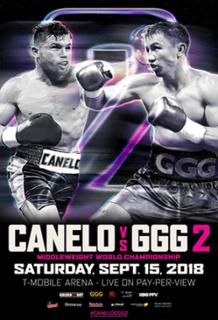 Canelo Álvarez vs. Gennady Golovkin II Boxing competition