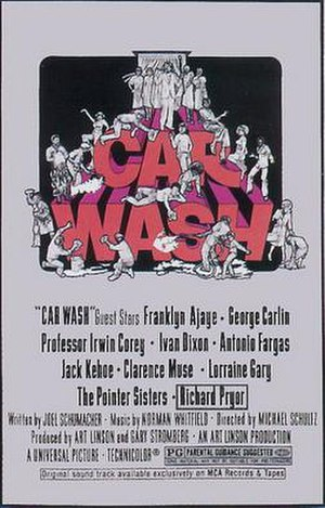 Car Wash (film) - The poster for the film