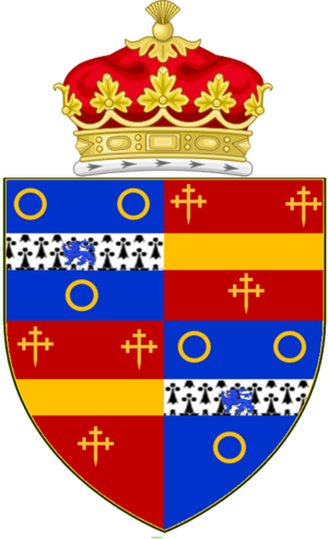 Cecilia Underwood, 1st Duchess of Inverness - Image: Cecilia Underwood Arms