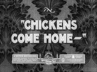 Chickens Come Home - UK title card