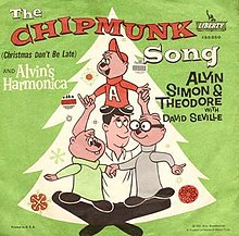 Alvin And The Chipmunks Christmas.The Chipmunk Song Christmas Don T Be Late Wikipedia