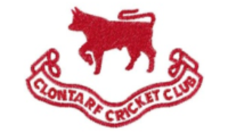 Clontarf Cricket Club - Image: Clontarf Cricket Club badge