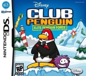 Club Penguin: Elite Penguin Force - Image: Club Penguin Elite Penguin Force Box Art