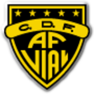 Club Deportivo Arturo Fernández Vial - Image: Club Deportivo Ferroviario Almirante Arturo Fernández Vial logo