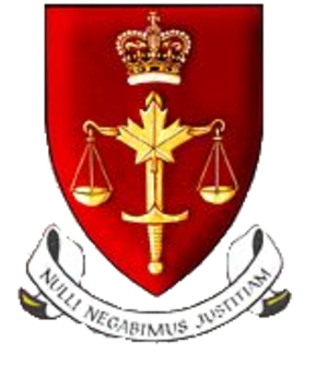 Court Martial Appeal Court of Canada - Coat of Arms of the Court Martial Appeal Court