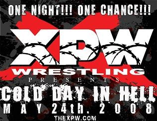 Cold Day in Hell (Xtreme Pro Wrestling poster, 2008)